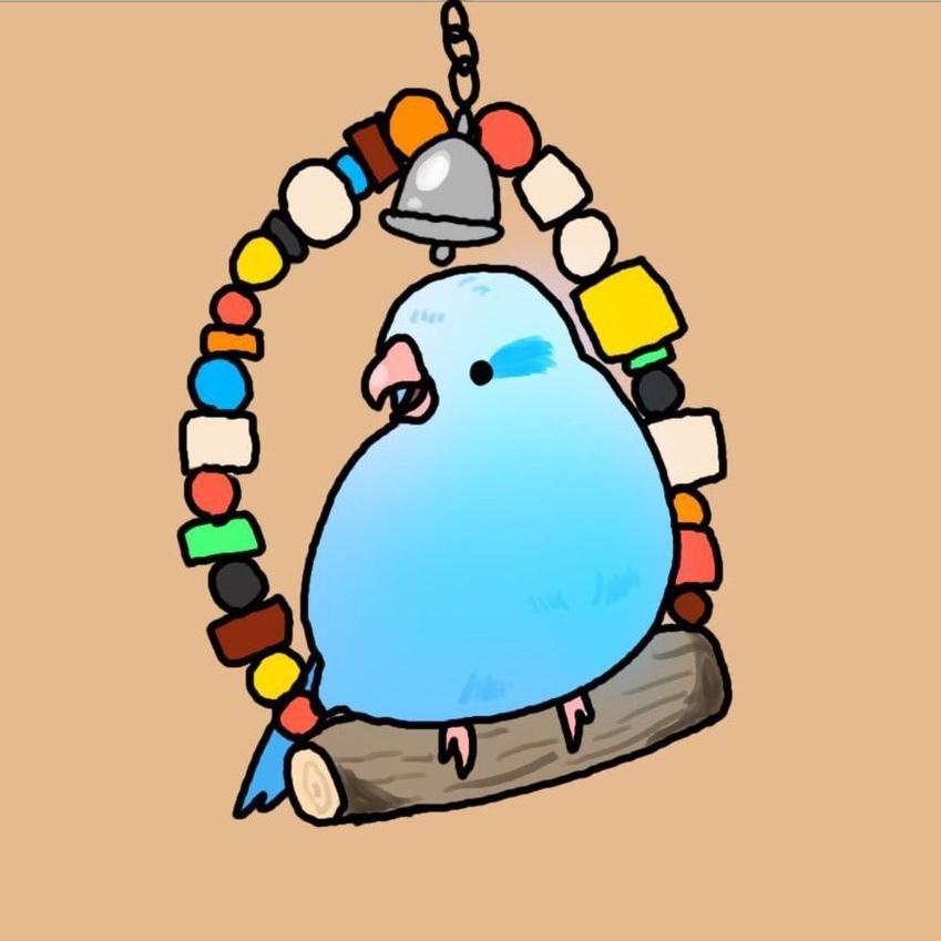 ペットの鳥や、好きな動物のアイコン描きます デフォルメされた可愛いイラストをデジタルでお描きします!