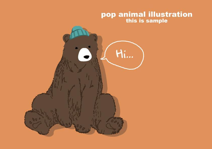 シンプルPOPなイラストお描きします 様々な媒体をおしゃれに飾ります!