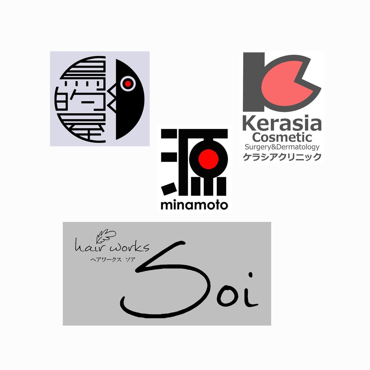 個性的なロゴマーク制作します 「かわいい」から「シンプル」まで、ご要望に沿ったロゴデザイン