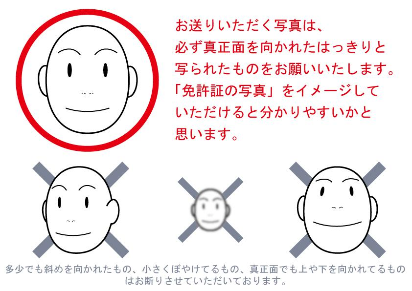 ディフォルメタッチの似顔絵をお作りいたします 名刺やプロフィールに可愛い似顔絵を使用した方におススメです!