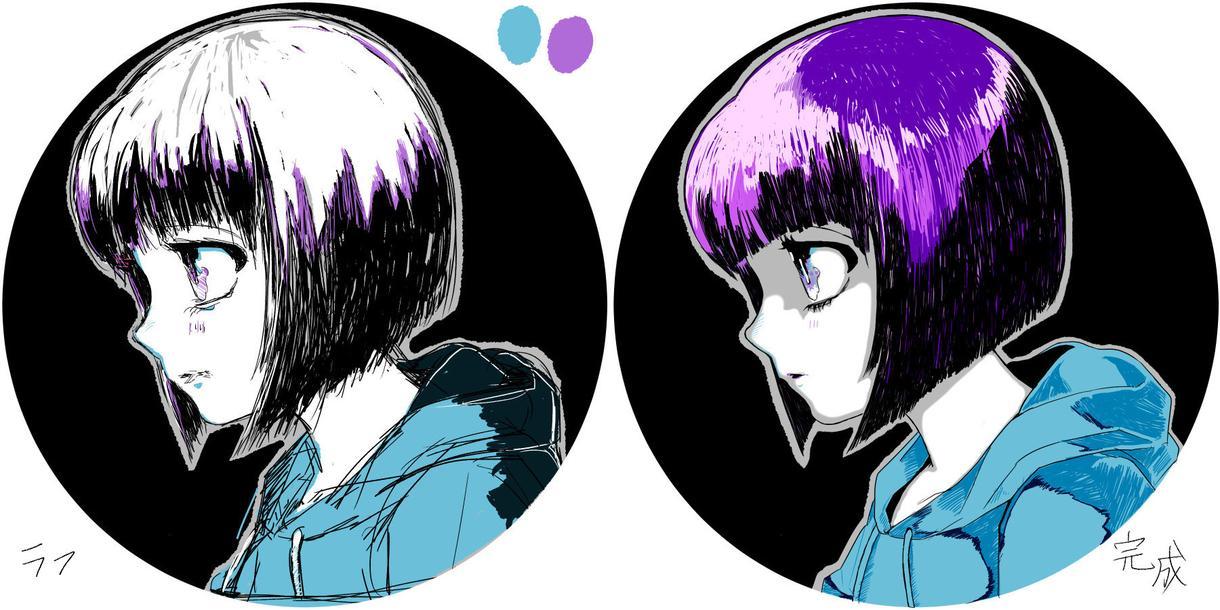 SNSアイコン等を描きます 似顔絵もOKシンプル着色イラスト