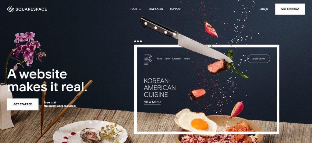 インフルエンサー内で大流行のサイト作ります ニューヨーク発の洗練されたデザイン&クールなサイト イメージ1