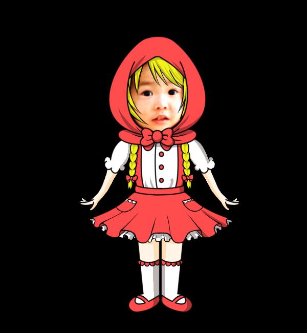 お好きな写真で赤ずきんちゃんの動画作成いたします 絵本の主人公になりたい!プレゼントで悩んでいるあなたへ