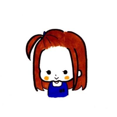 たんぽぽみたいな女の子を描きます チャームポイントはほっぺです。