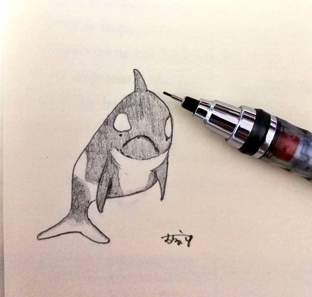 ゆるーいイラストを描きます アナログで動物等のゆるーいイラストをお好みに仕上げます!