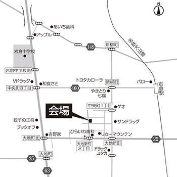 シンプル地図の作成を致します 名刺やチラシ・ホームページに掲載する地図にオススメ!