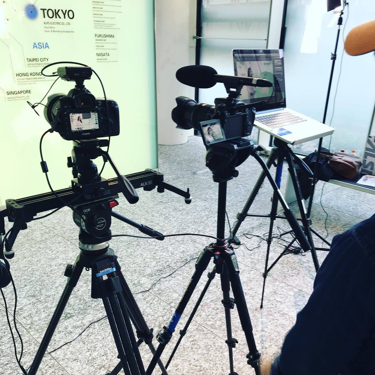 写真よりも動画の時代!5分以内の動画編集承ります 使用用途に合わせた動画のご提案や、撮影アドバイスも可能!