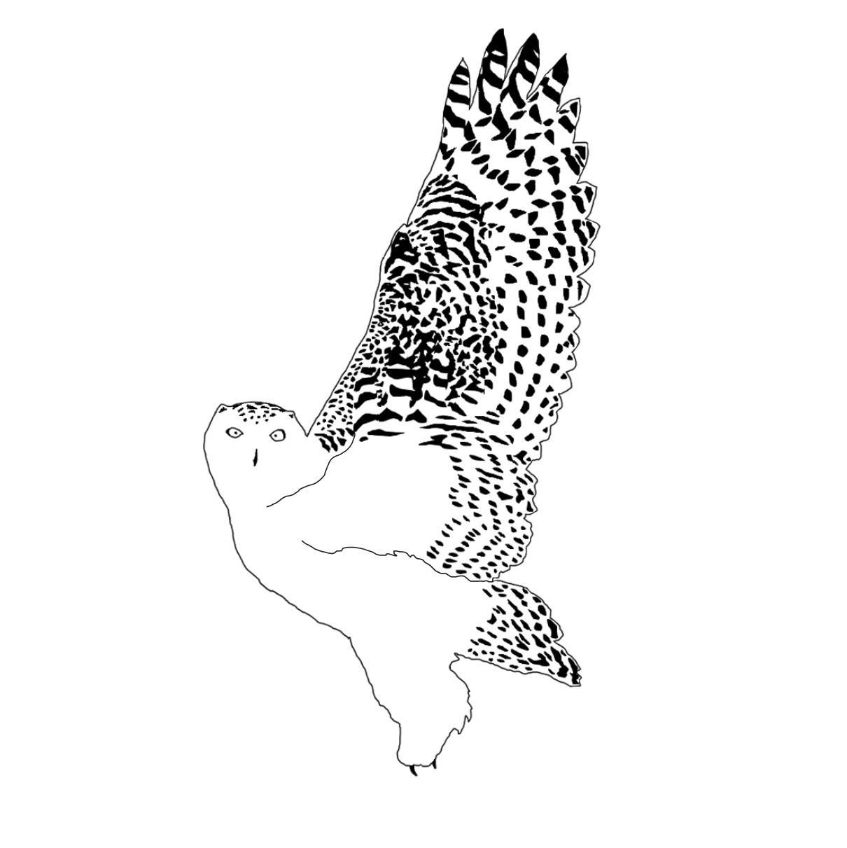 スタイリッシュな動物の白黒イラスト描きます ペットのイラストや動物の挿絵などが欲しい方に
