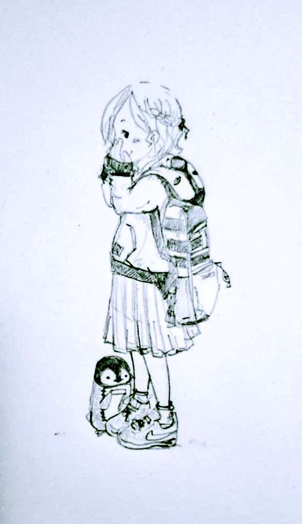 あたたかみのある絵を描きます 親しい人やちょっとした贈り物に添えて。