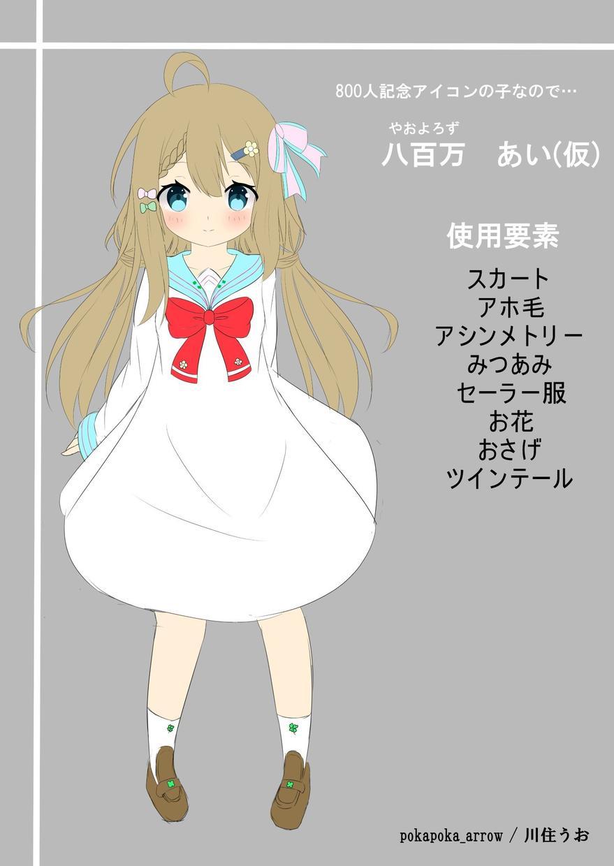 キャラクターデザインやります 可愛い女の子、マスコットキャラクター作成します! イメージ1