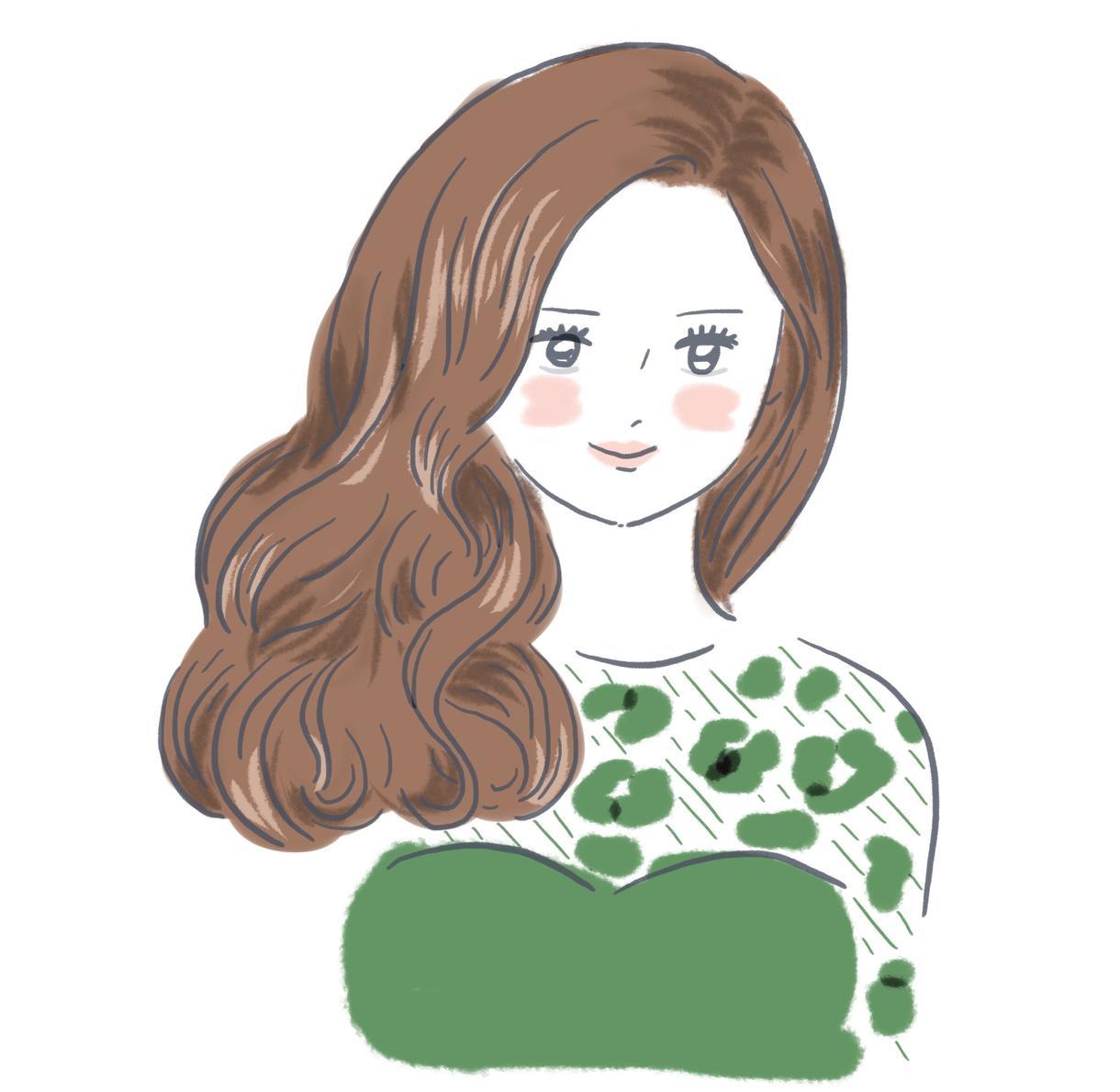 大人かわいいファッションイラストを描きます 雑誌で占いのイラストを描いたことがあります(^O^)