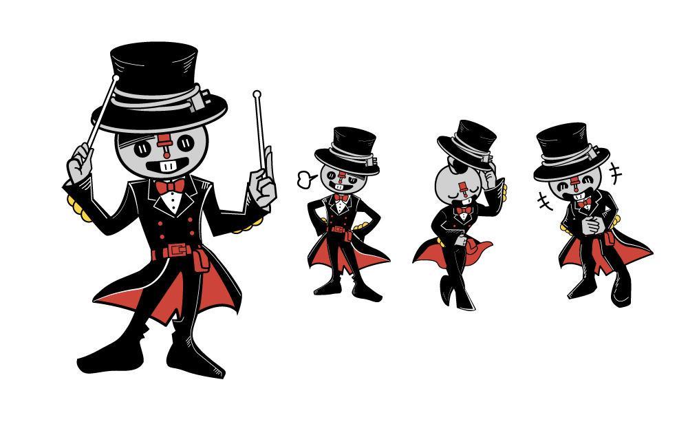 会社やお店を盛り上げる!キャラクターを提供します 会社やお店をお客様の代わりに宣伝!魅力なキャラクターを提供。