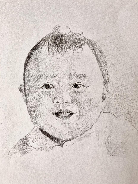 鉛筆で似顔絵を描きます 写真が身近になった今だからこそ手描きのぬくもりを♡ イメージ1