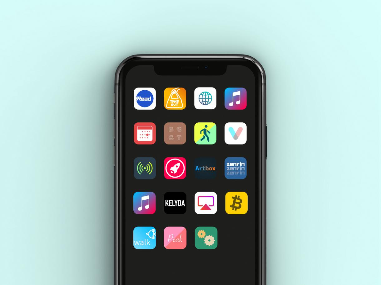 現役デザイナー制作|スマホアプリのアイコン作ります 目を引くUI/UXアイコン【iOS/Android向け】 イメージ1
