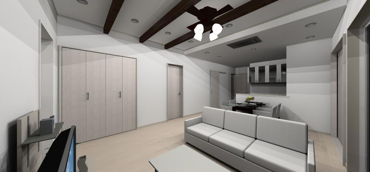 簡単な住宅の間取り・外観内観パース制作致します 新居を計画している方・間取りで悩んでいる方におすすめです イメージ1