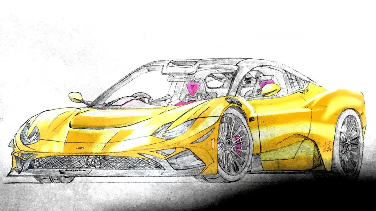 あなたの愛車のイラスト描きます SNSのアイコンや背景画像等にどうぞ! イメージ1