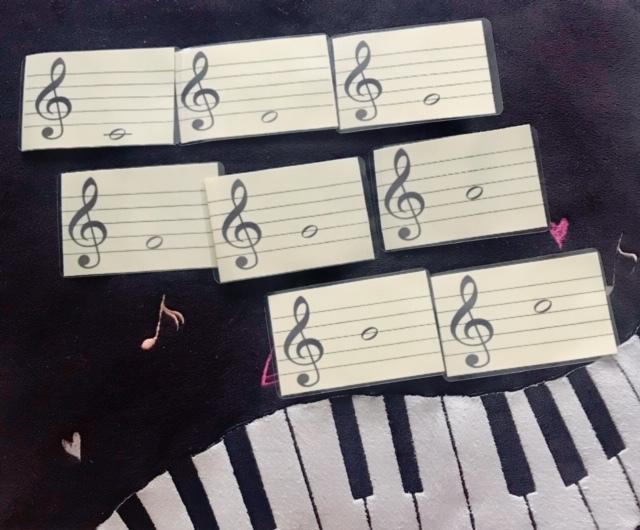 個人レッスンや音楽教室で使える教材を提供します 小さいお子様や、体験レッスンに。 イメージ1