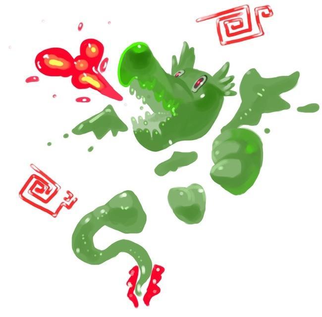アイコン、イラスト キャラクターを描きます 不思議系の抽象的なキャラクターを描きます