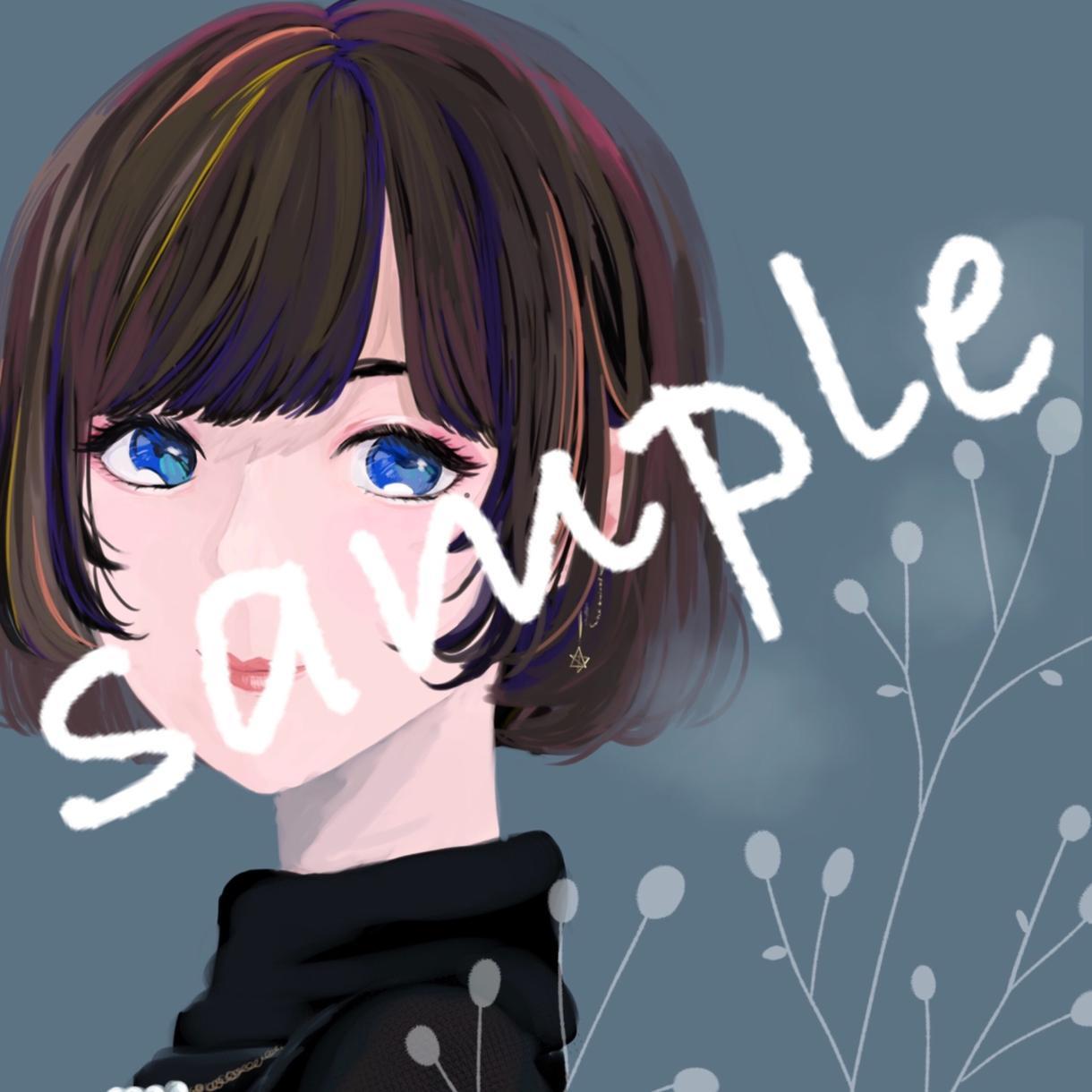 SNS用アイコン描きます かっこよくて可愛いおしゃれなアイコン提供します!