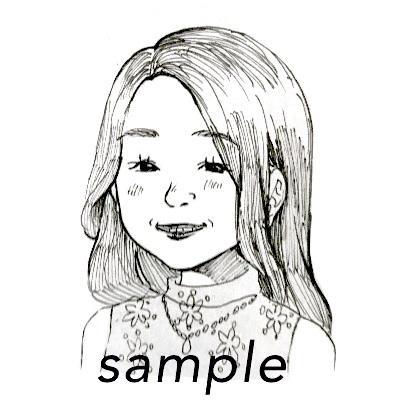 ペン画であなたそっくりのアイコン描きます 漫画風のアイコンが欲しいなと思った方必見です。 イメージ1