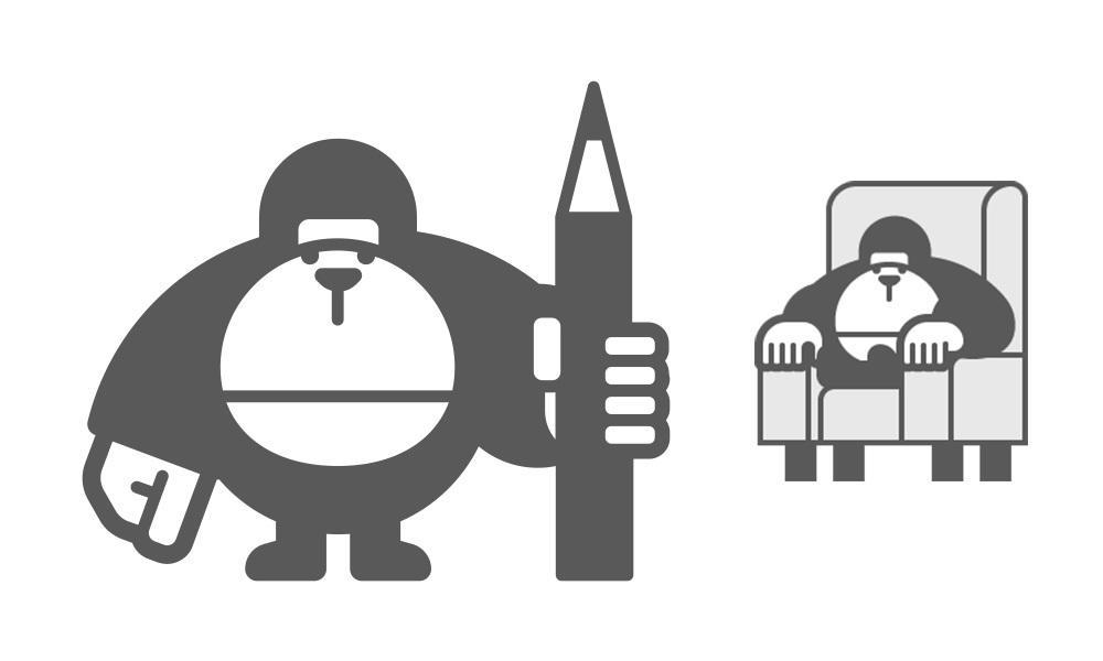 独自のオリジナルキャラクターを作成します 企業向け、団体様向けにオリジナリティ溢れるキャラクター作成