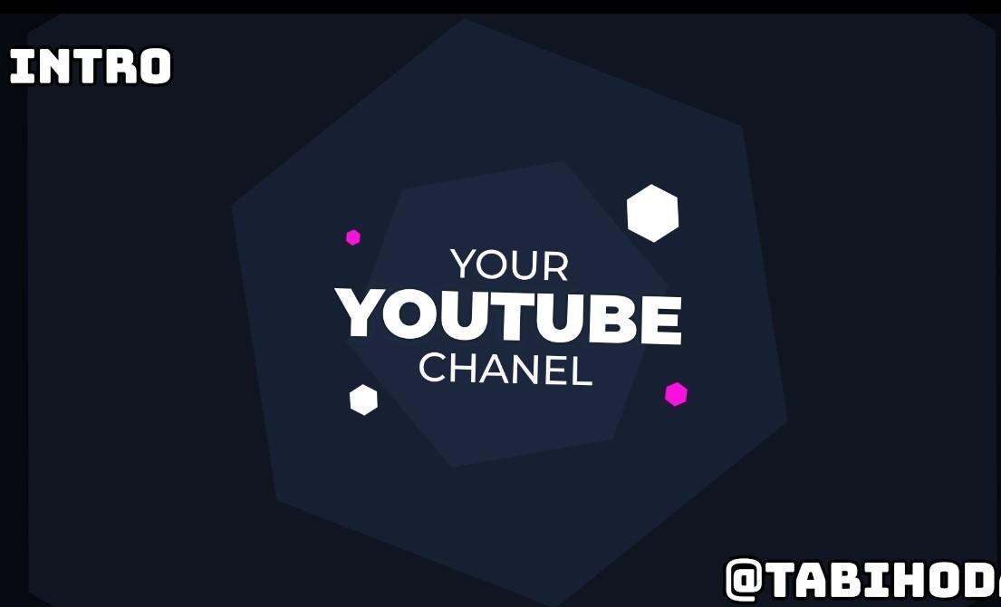 Youtubeのイントロと登録ボタンを作ります Youtubeチャンネル登録者を増やしましょう!