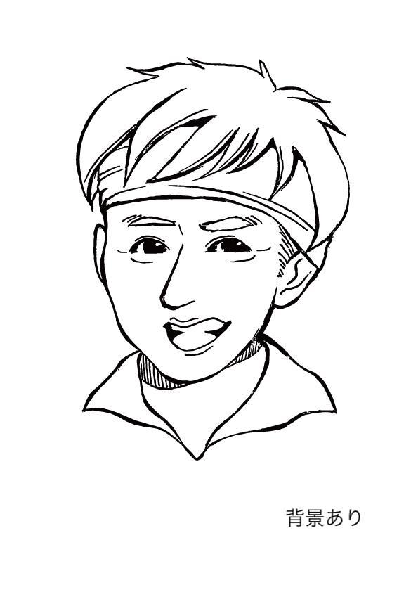 名刺用似顔絵描きます 似顔絵の名刺やアイコンで相手にインパクトを与えてみませんか?