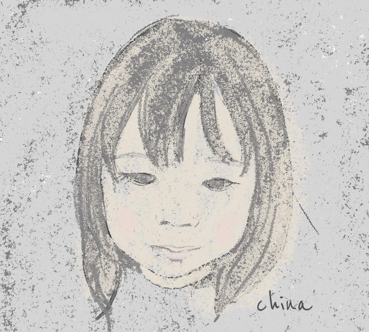 修正無制限*雰囲気のある子供の絵描きます お子様の成長の記念などに。似顔絵のプレゼントにも!