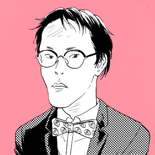 アナログ漫画タッチの似顔絵アイコン描きます シンプル・スタイリッシュな漫画タッチの似顔絵です。