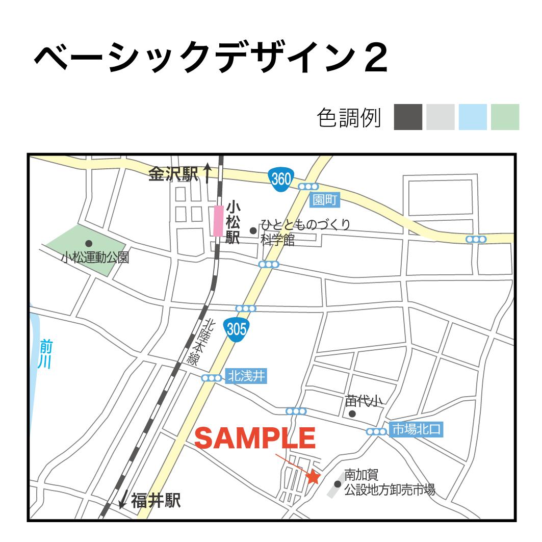 Aiデータ付★綺麗で見やすい!地図つくります 地図デザイナーの経験を生かして目的に合わせた地図を作ります!