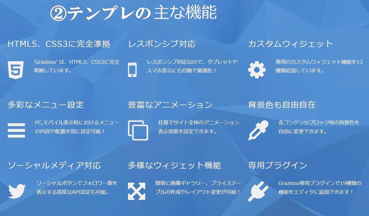 近未来型 スタイリッシュ&おしゃれなHP作成します サーバー料金 永久無料 ワードプレス設置 ホームページ 作成