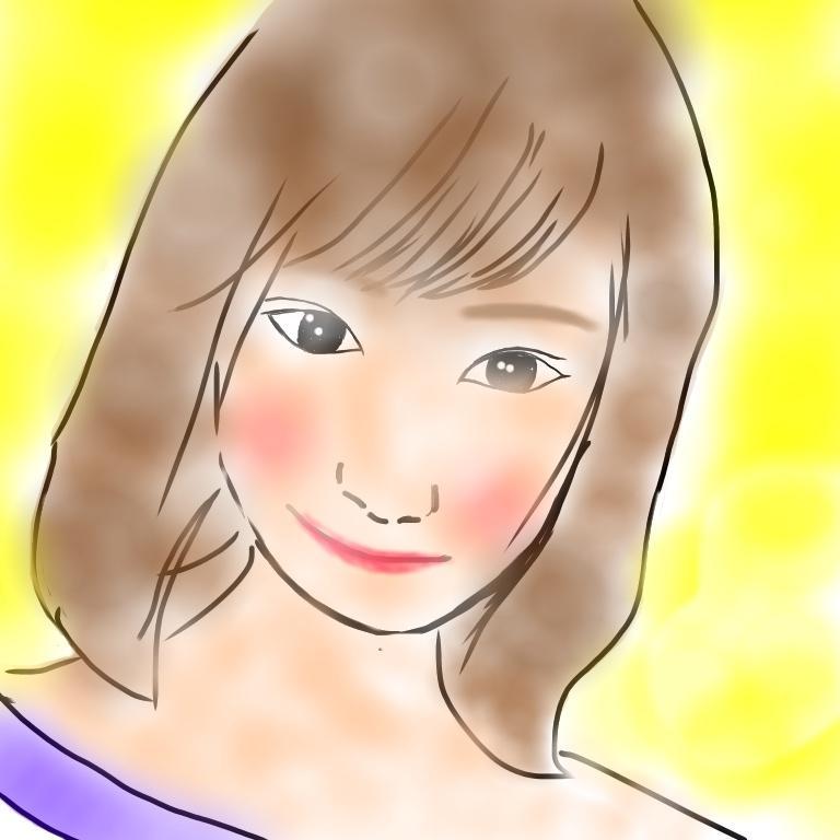 らくがき似顔絵描きます ネット上で「どんな顔?」と聞かれた際などに利用できます。