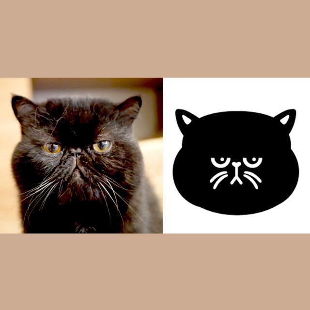 猫ちゃん専門!ポップな「うちの子ロゴ」を作成します スマホケースやバッグにオリジナル印刷できます!