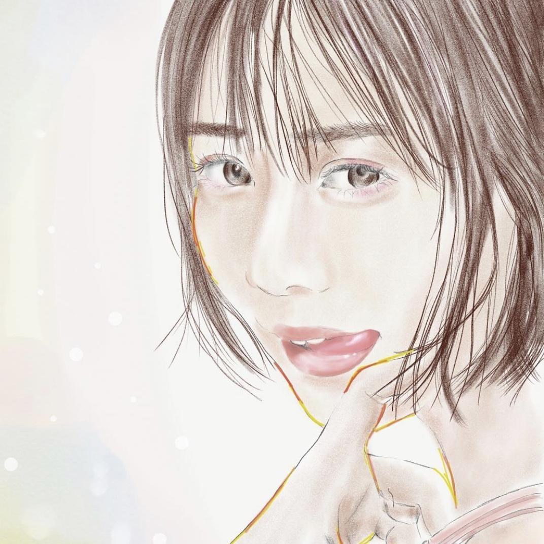 おしゃれでかわいい、水彩画風イラストを作成します ふわっとした女性らしい繊細さが魅力のイラストです! イメージ1