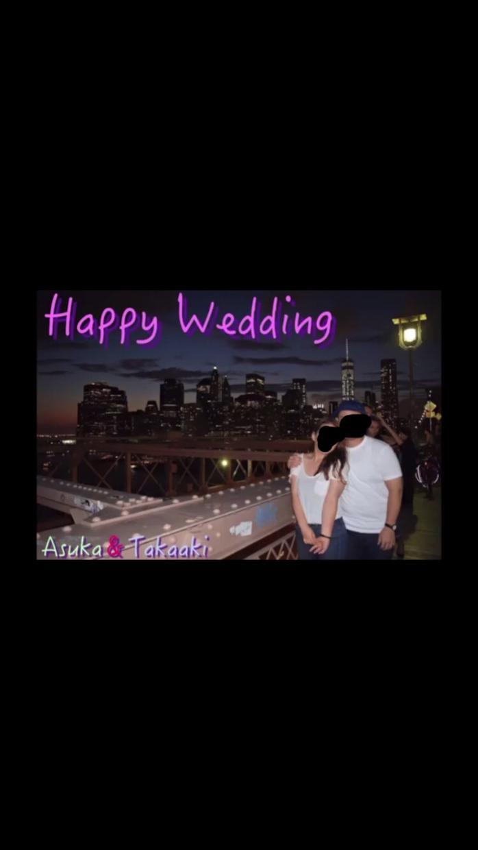 結婚式やイベント用の写真スライドショーつくります!