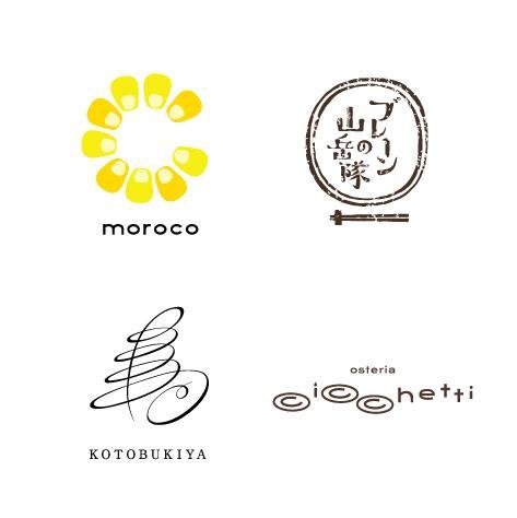 オリジナリティUP◎ロゴ+マークをデザインします コンセプトにあった書体とマークで、個性的なロゴに! イメージ1