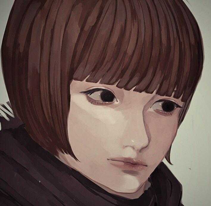 snsアイコン・表紙・顔メインのイラスト描きます 【商用・二次利用可】リアルよりの顔を描くのが得意です。