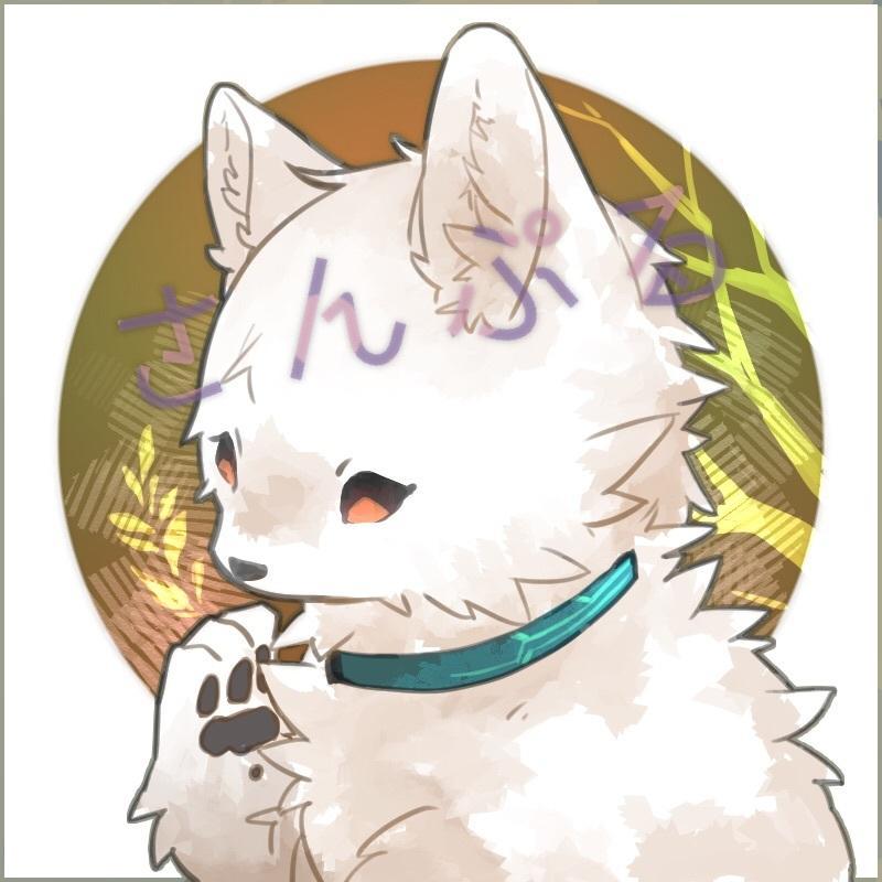 可愛くてもふもふな犬ケモノアイコンお描き致します ちょっぴり特徴的なアイコンが欲しい方へ...!