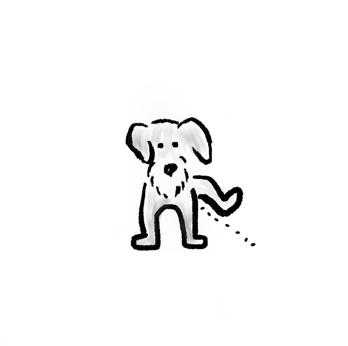 わんちゃんのゆるいデジタルイラストを描きます 是非お気軽にご依頼くださいませ! イメージ1