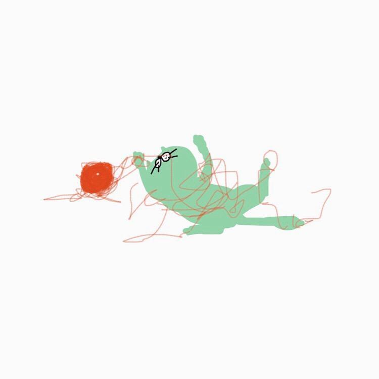 ブサゆるなイラスト描きます アイコンなどにどうでしょうか。