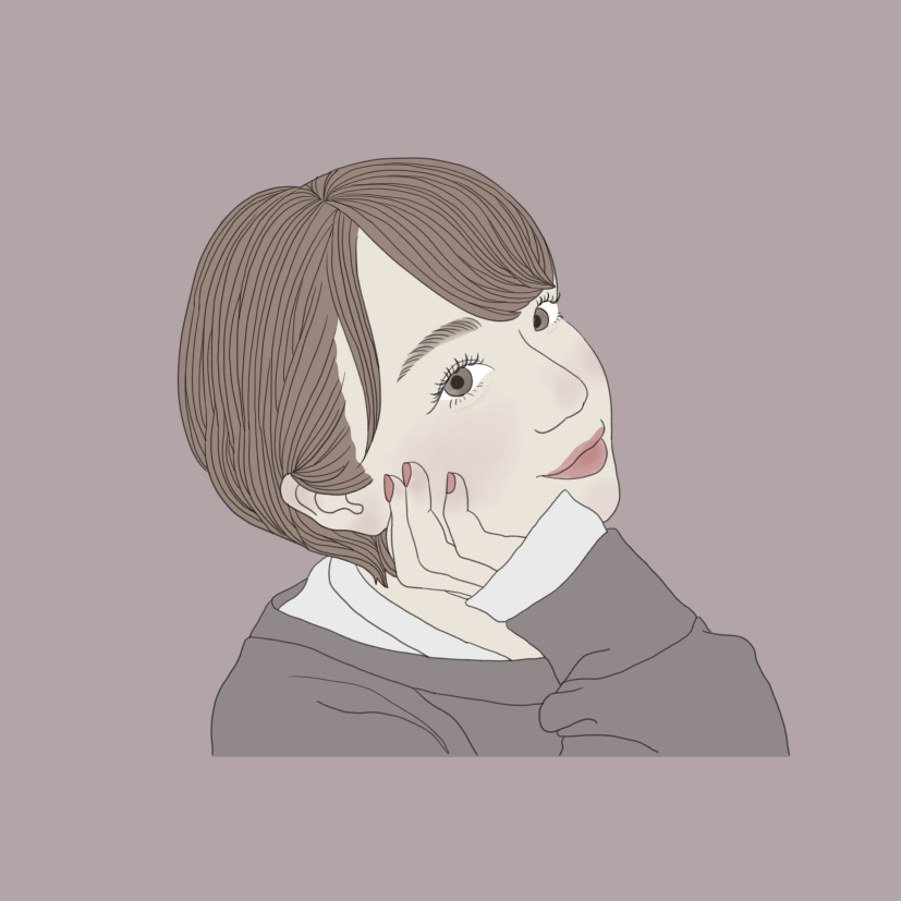 おしゃれでシンプルな似顔絵イラストお描きします SNSのアイコンに♡印刷してお部屋に飾ってもおしゃれ♡