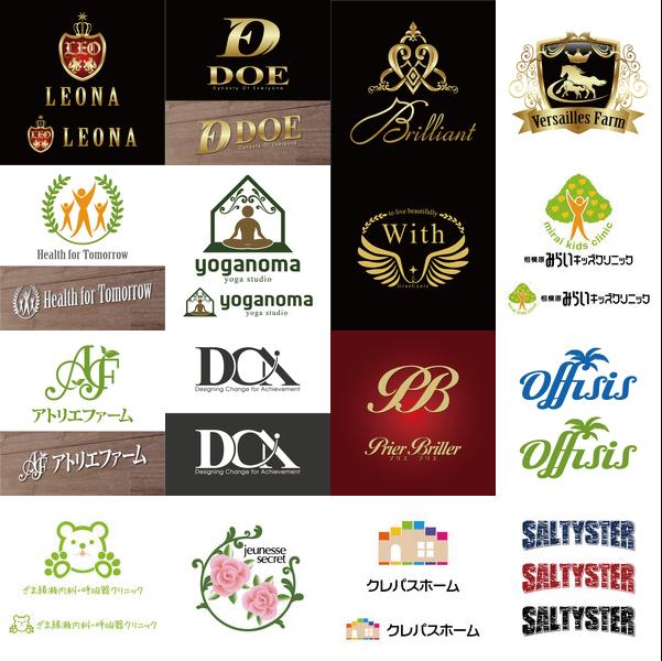 オリジナルロゴマーク制作します コンペ採用実績多数あり、著作権譲渡でご利用いただけます。