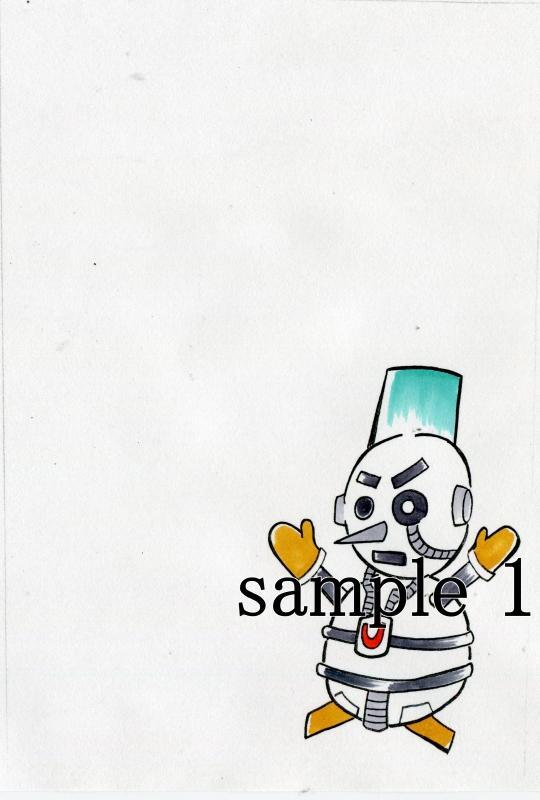 絵葉書用画像・何れか5枚セット提供いたします。