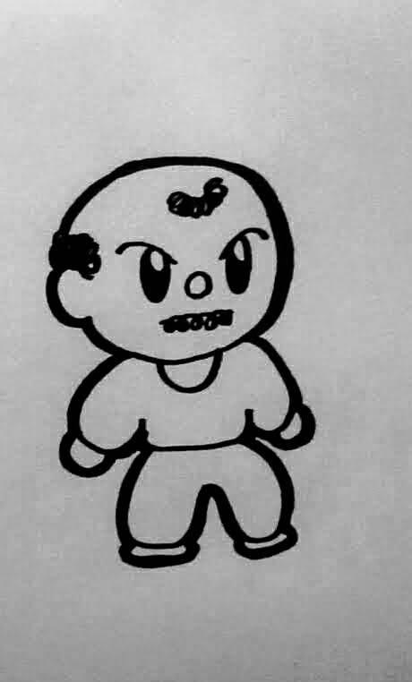 子供の落書きのようなキャラクターイラスト描きます 三次元的・立体的なデッサン力必要なイラストは他でどうぞ