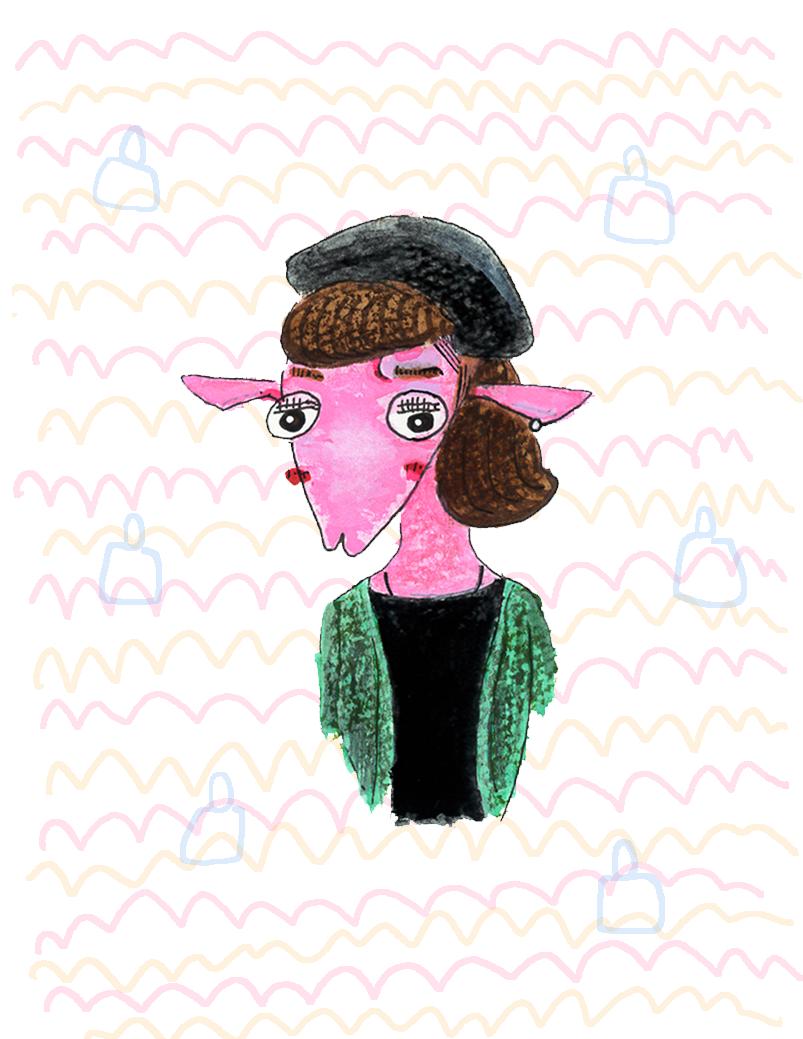 似顔絵を動物に例えてポップに面白く描きます あなただけの個性的で面白い似顔絵を精一杯お描き致します!!