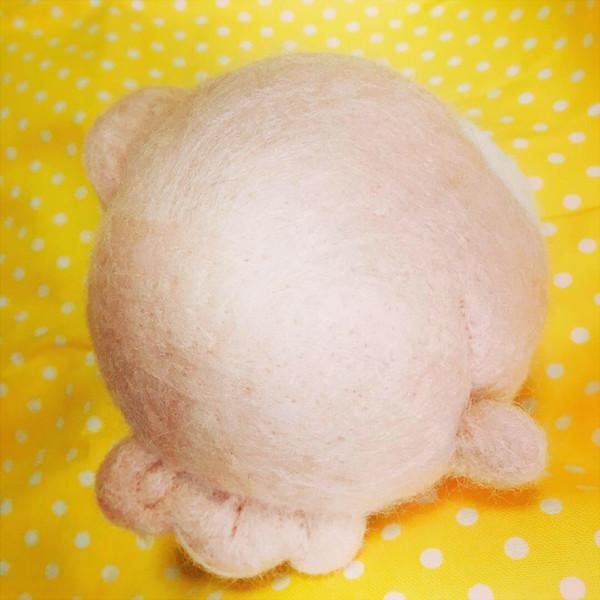 イメージを羊毛フェルトの立体的なマスコットにします 極力いい感じに再現したいです。