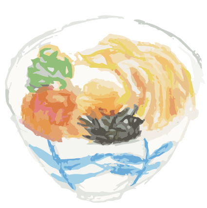 味のある【料理・食べ物】の絵を書きます POPやメニューや看板の挿絵に入れて印象をアップ!