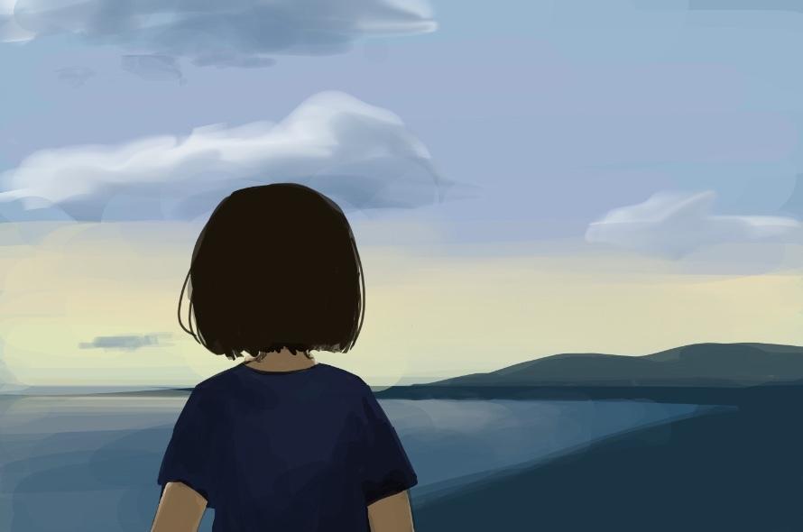 背景を描きます 思い出の景色をイラストにします