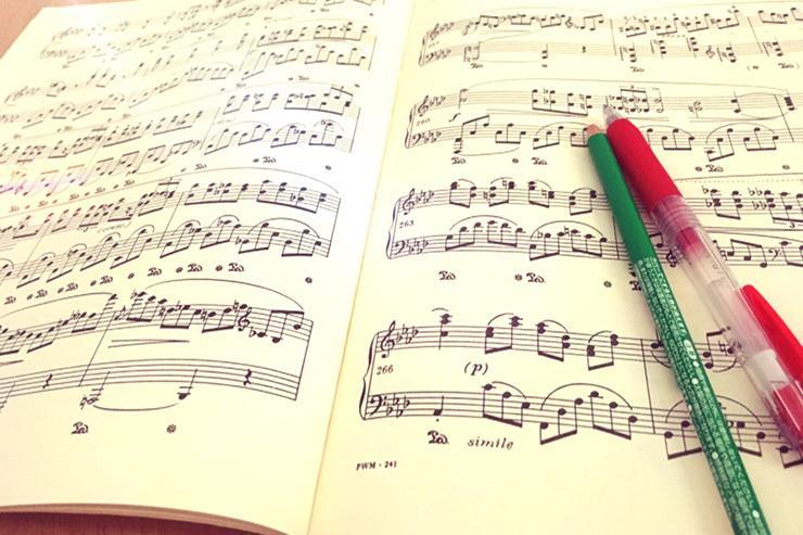 楽譜に音名を記入!譜読みのお手伝いします 難易度関係なく4ページまで500円。短い曲は二曲までokです イメージ1