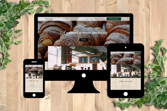 コミコミ5万★個人事業主・中小企業のサイト作ります オリジナルデザイン×設定も込♪業種問わず美しいHP作成します